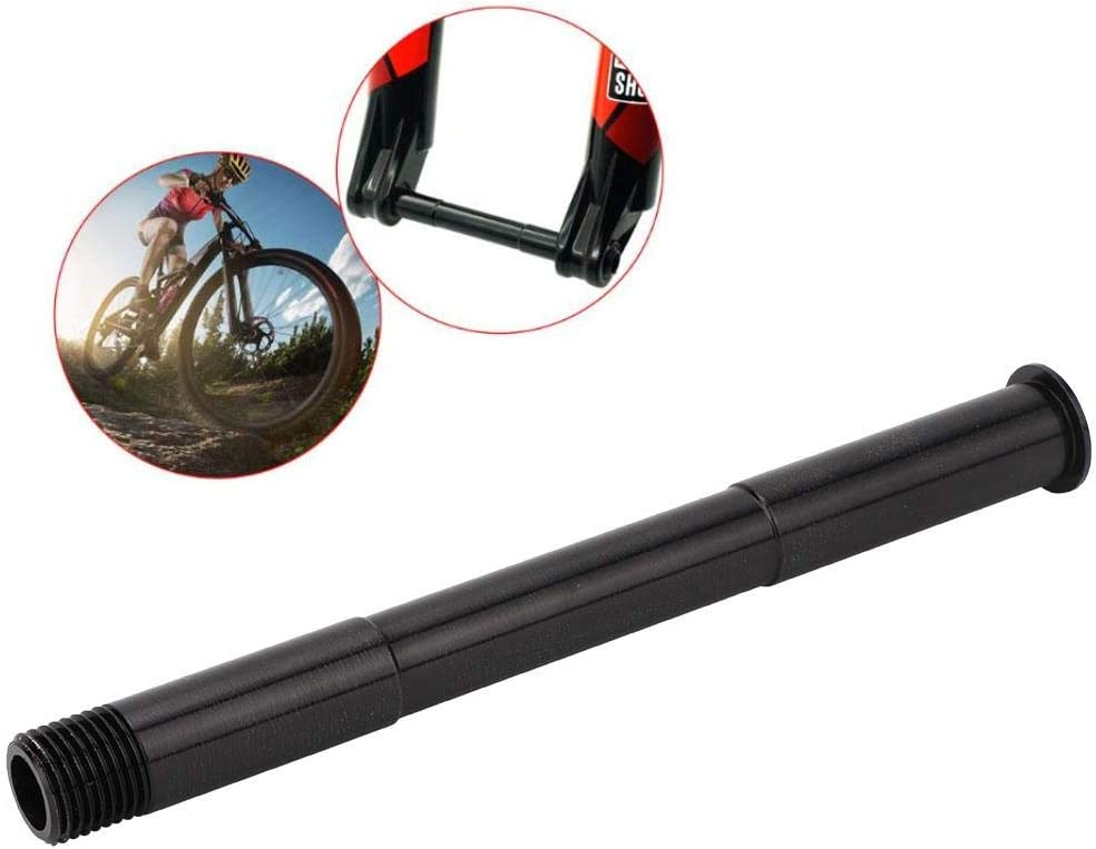 Front Fork Thru Axle Bicycle Aluminum Alloy Front Fork Thru Axle Quick Release Thru Axle for ROCK SHOX