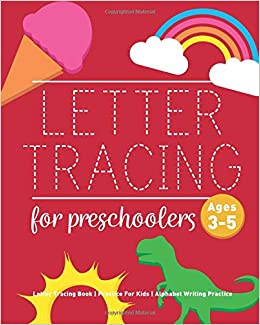 Amazoncom Letter Tracing Book For Preschoolers Letter Tracing