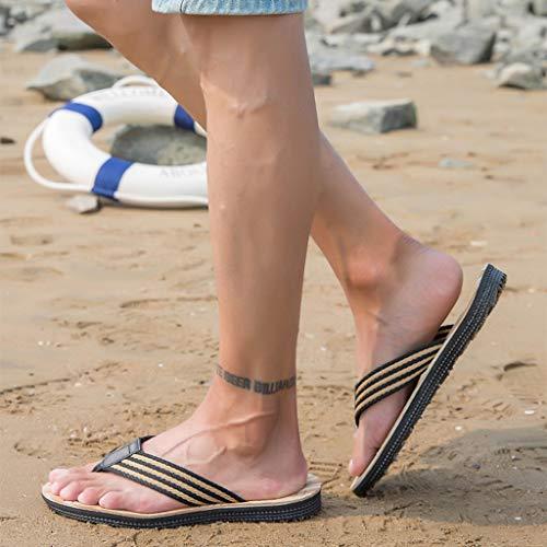 De Muchachos Moda 9 Weilushop 5 Las Antideslizantes Tamaño Deporte Brown Sandalias Playa La Los Zapatillas vwqXx5