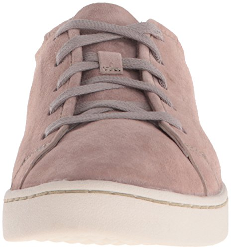 Hush Puppies Womens Ekko Gwen Oxford Taupe Scamosciato