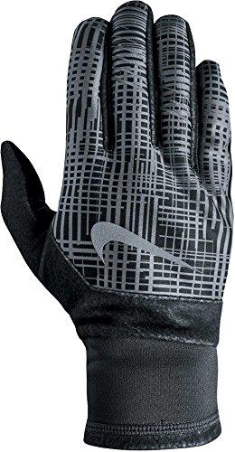 ナイキ アクセサリー 手袋 Nike Men's Printed Therma-FIT Elite Run Anthracite [並行輸入品]