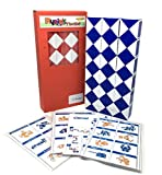 Rubik Snake 72 Part Pack of 1 Rubik Twist Puzzle Random Color with Pattern Design & Instruction Pattern