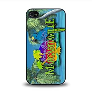 iPhone 4 4S case protective skin cover with Jimmy Buffett Margaritaville design