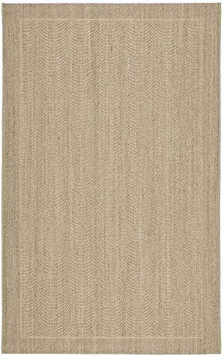 Safavieh Palm Beach Collection PAB322A Desert Sand Sisal & Jute Area Rug (3' x 5')
