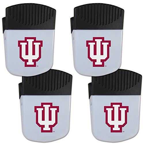 - Siskiyou NCAA Indiana Hoosiers Chip Clip Magnet with Bottle Opener, 4 Pack
