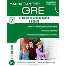 Reading Comprehension & Essays GRE Strategy Guide, 4th Edition (Instructional Guide) 4 Pap/Psc edition by Manhattan Prep, - (2014) Paperback