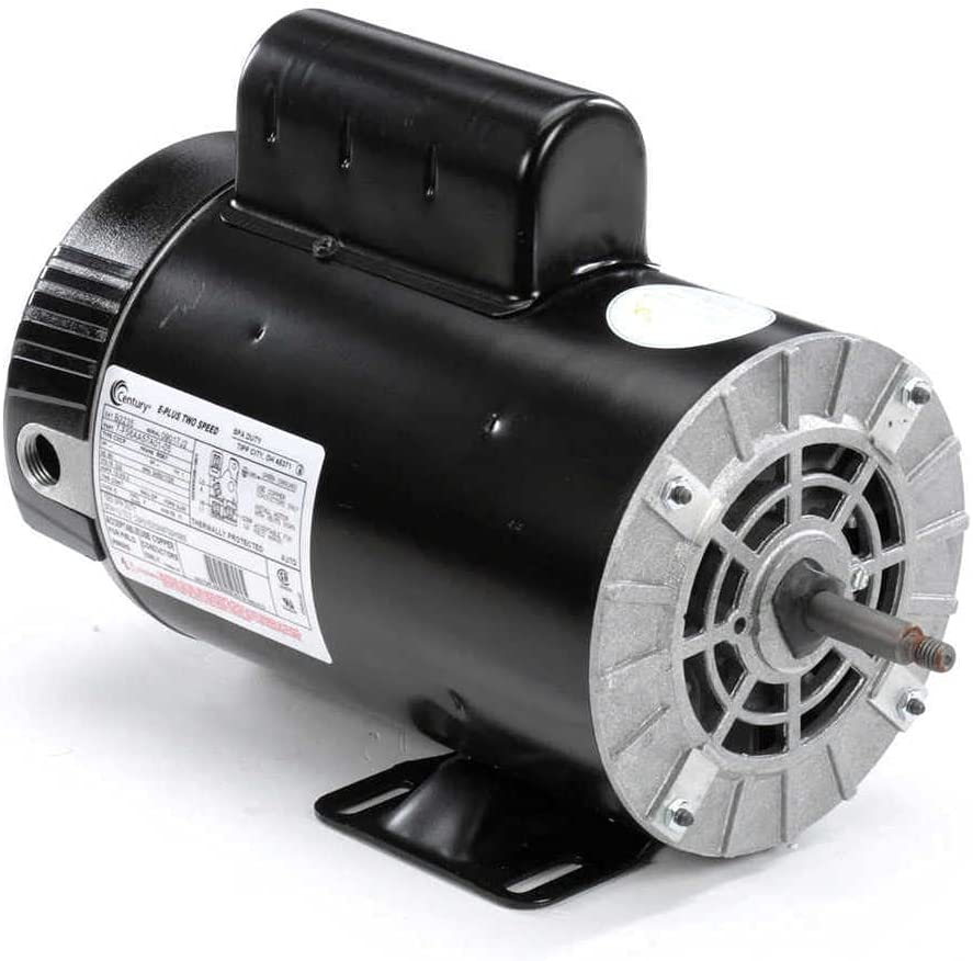 Century 4, 1/3 HP Pool and Spa Pump Motor, Capacitor-Start, 3450/1725 Nameplate RPM, 230 Voltage, 56Y Frame - B2235
