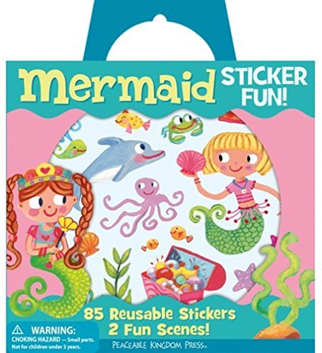 Peaceable Kingdom Sticker Mermaid Reusable product image