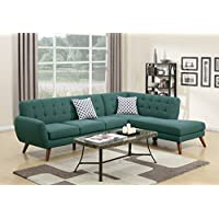 Modern Retro Sectional Sofa (Laguna)