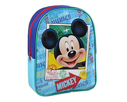 Atosa 33123 Backpack Mickey Mousse, 32 mm X -