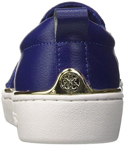 Collo Basso Guess Glorienne Blu Donna a Sneaker qnxFTap