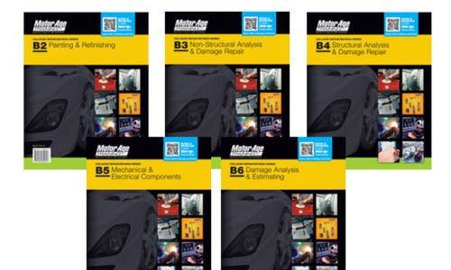 BB Collision Repair/Paint Refinish: The Motor Age Training Self-Study Guides for ASE Certification (Set of B2 through B6) PDF