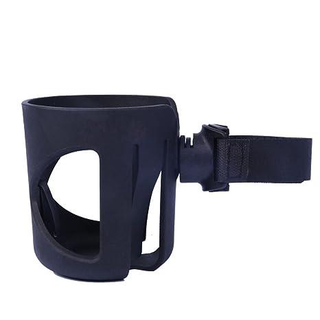 ZEEUPAI - Portavasos sujetavasos Universal con correa de velcro ajustable con almohadillas antideslizantes para carrito cochecito