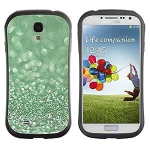 Paccase / Suave TPU GEL Caso Carcasa de Protección Funda para - Glitter Moss Winter Dew Diamond - Samsung Galaxy S4 I9500