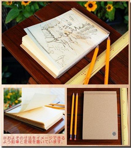 Japanese Wood Sheet Pads by KIZARA (184x126) by KIZARA