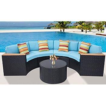 Amazon Com Crosley Furniture Catalina Outdoor Wicker