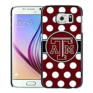 Southeastern Conference SEC Football Texas A&M Aggies 01 Black Cool Abstract Picture Case For Samsung Galaxy S6 Phone Case