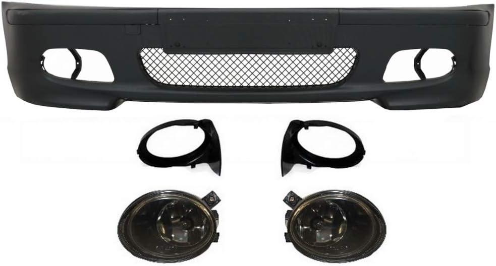 Protuning Kitt Cofbbme46mt4ds Frontstoßstange Nebelscheinwerfer Auto