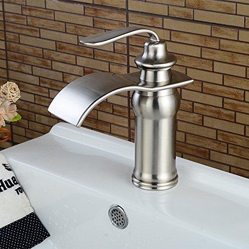 vessel faucet brushed nickle - 8