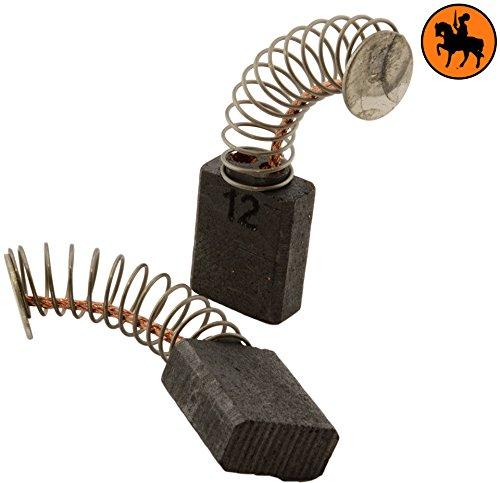 Balais de Charbon pour METABO SE 5040 R+L viseusse -- 5x10x12, 5mm -- 2.0x3.9x4.7'' -- Avec arrêt automatique 5mm -- 2.0x3.9x4.7'' -- Avec arrêt automatique Buildalot