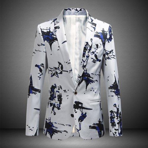 Grande Casual Imprimé Homme Yhnsxz Bai M Se 8817 Suit Taille Boutique 6xl Vêtements Pour Hommes Veste Hommes Suit vvPzqgIw