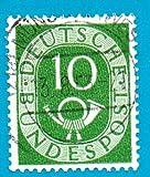 Used German Postage Stamp %281951%29 10