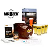 Mr. Beer with Personalized Pub Glass Set