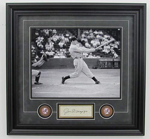 - Joe DiMaggio Yankees Signed/Framed 11x14 B/W Photo JSA 140601