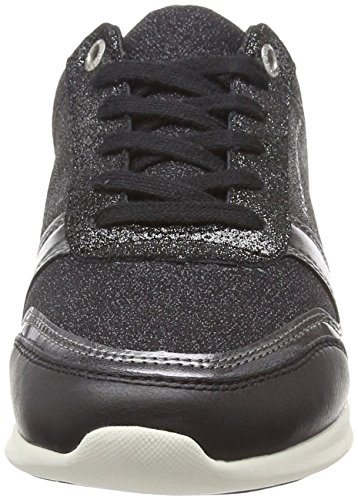 Sneakers Tommy Women's Hilfiger Top Black 990 Light Sparkle Low Black qppAnwr4W