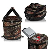 Camo 24 Can Pop Up Cooler - Lightweight, Insulated, Waterproof, Portable and Collapsible - For Travel, Picnics, Hiking, Camping and More - Jamboree by GigaTent
