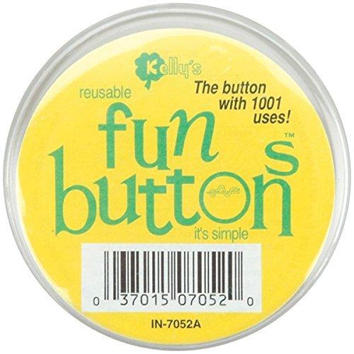 """UPC 037015701691, Fun Button 2-1/2""""-Clear Plastic"""