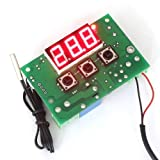 SMAKN® W1302 12V AC/DC Digital Heating Thermostat Temp Control -50-110 °c Temperature Controller With 1 Meter Sensor Probe Cable