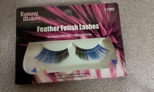 Wet N Wild Fantasy Makers Feather Fetish Lashes Self-adhesive Eyelashes Glamoureyes #11292