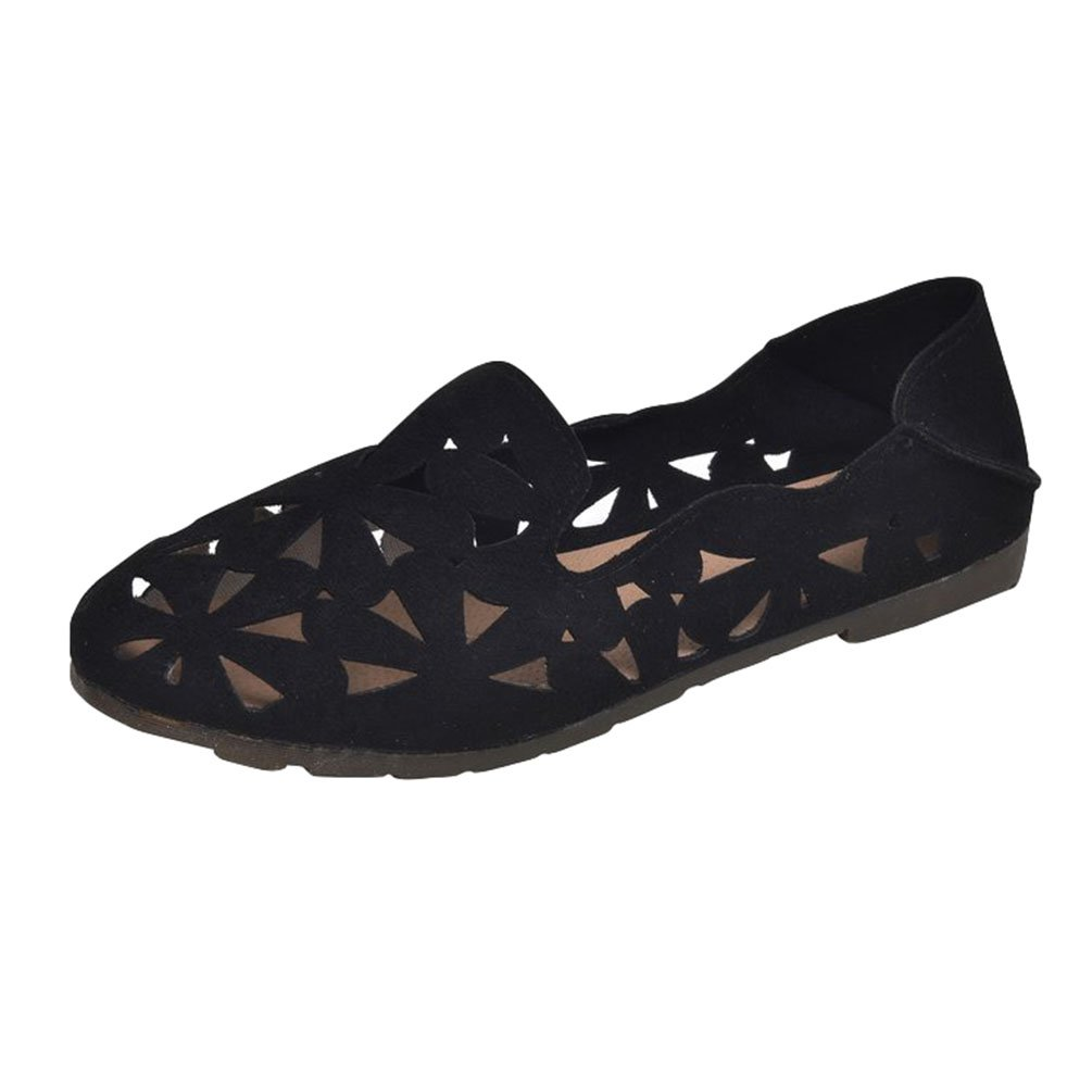 Anguang Slippers Femmes Conduite Confort Plat Mocassins Slippers Chaussure Conduite 10261 Slip on Loafers Noir#1 d531b86 - shopssong.space