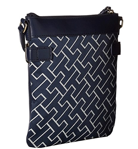 Hilfiger Tommy White Navy Crossbody North Womens Claudia South drRqrxFw