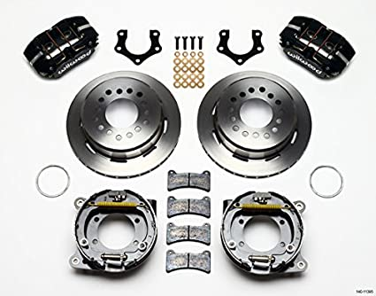 Amazon Com New Wilwood Full Disc Brake Kit 11 Rotors Black 4