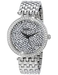 Caravelle New York Womens 43L160 Swarovski Crystal Pave Watch
