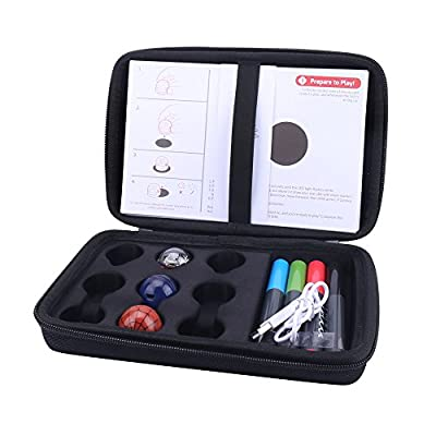 Aenllosi Hard Case for EVO App-Connected ozobot Bit Coding Robot (Black): Toys & Games