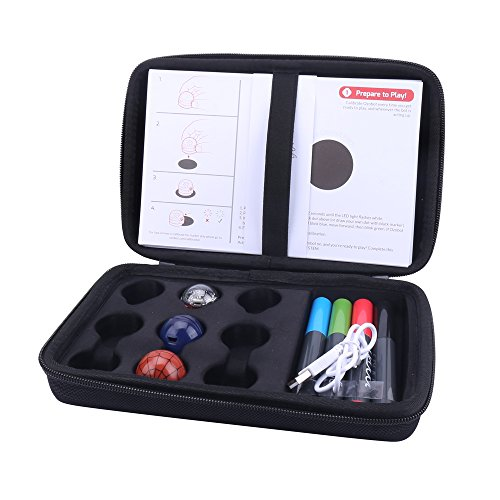 Hard Case for EVO App-Connected ozobot Bit Coding Robot by (Bits Case Pack)