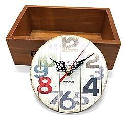 HUELE Mini 4.8 Inch Roman Tuscan Style Creative Retro Wall Clocks Bar Home Hotel Decorative Jewelry Gift
