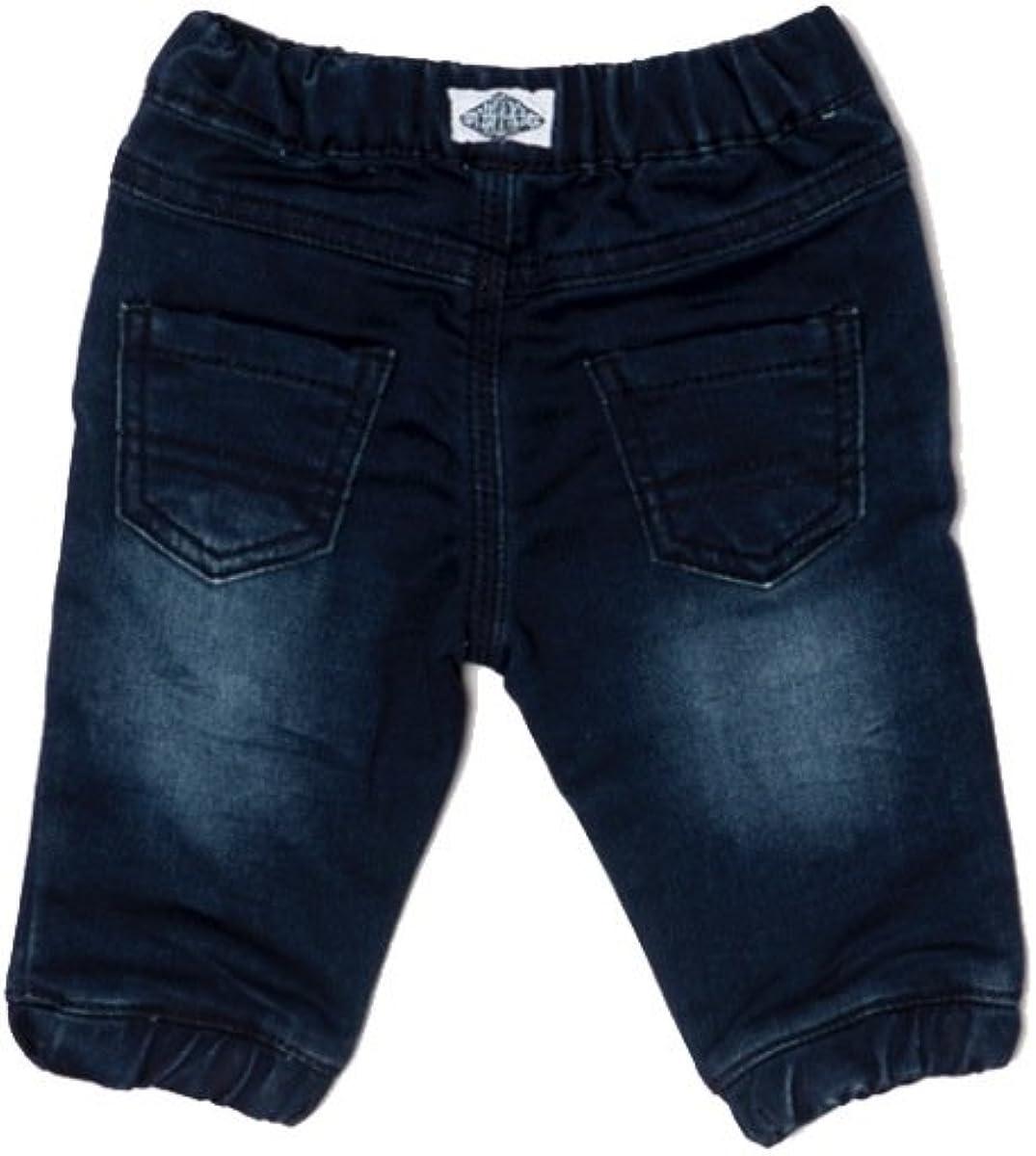 Baby Boys Dark Washed Jog Jeans from Minoti