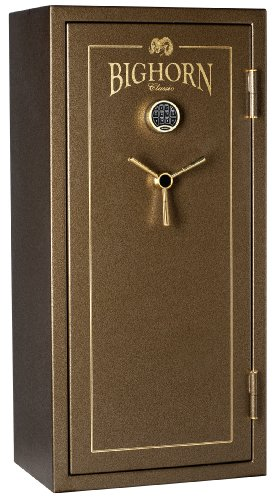 Bighorn 5928ECC-SPL Classic Gun Safe with 30 Minute at 1200 Degree Fire Rating and Basic Door Backer