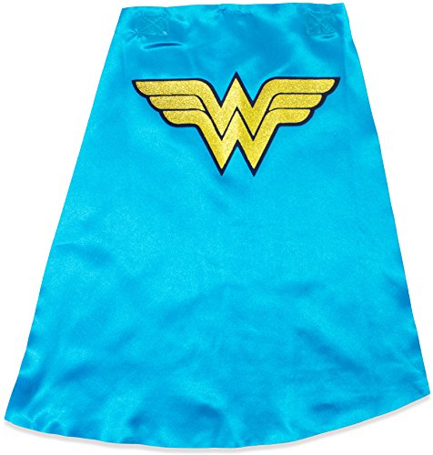 Wonder Woman Toddler Girls' Costume Tee Shirt with Cape Red (5T) by Warner Bros. (Image #3)