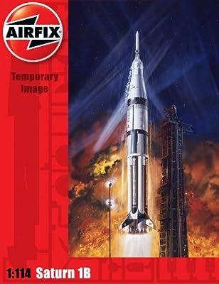 Airfix A06172 Saturn 1B Model Building Kit, 1:144 Scale
