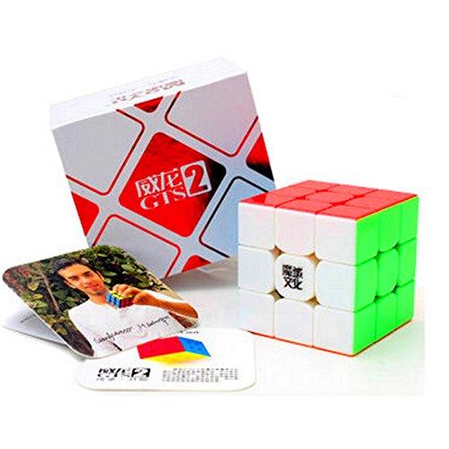 CuberSpeed MoYu WeiLong GTS2 stickerless 3x3 Magic cube MoYu
