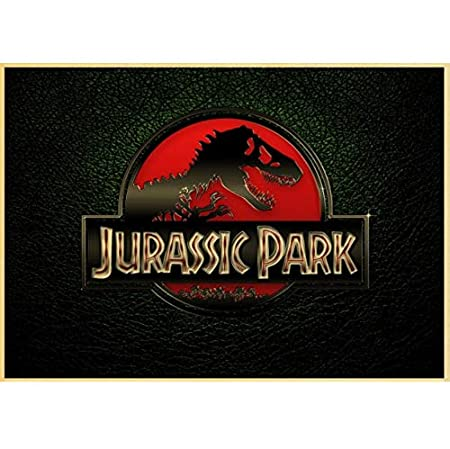 qwerz Kraft Jurassic Park Cartel De La Película De Estilo ...