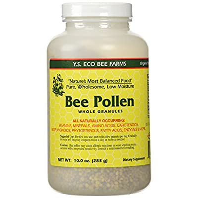 Bee Pollen - Low Moisture Whole Granulars - 10 oz