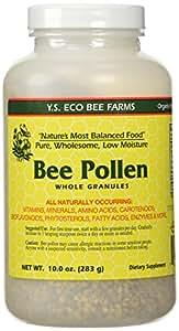 Bee Pollen - Low Moisture Whole Granulars - 10 oz