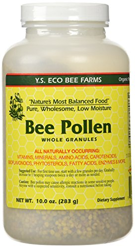 (Bee Pollen - Low Moisture Whole Granulars - 10 oz)