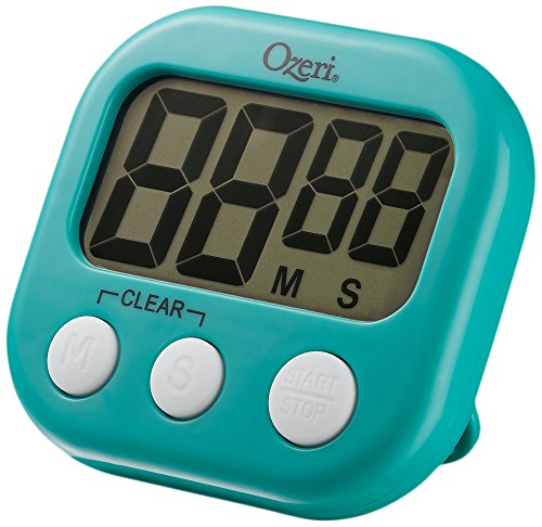 The Ozeri Kitchen and Event Timer, Teal